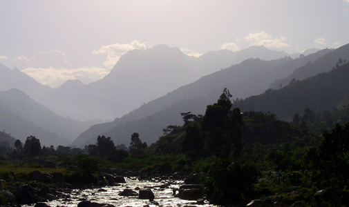 Rwenzori-foothills, Africa, Uganda, Rwenzori, national park, ruboni, community, camp, foothills, hike, village, view, mountain, accommodation, trek, tour